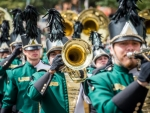 UAB Marching Blazers Ready to Perform at UAB Football Green and Gold Games, Rome World Peace Parade