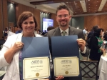 John Maddox, Krista Chambless First Time Attendee Stipend Winners