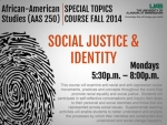 Special Topics Course: Social Justice & Identity