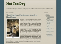"UAB Art History Students Create ""Not Too Dry"" Blog"