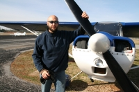 Alumnus Takes to the Skies at the Southern Museum of Flight