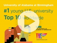 Times Higher Education ranks UAB No. 1 young U.S. university, top 10 worldwide