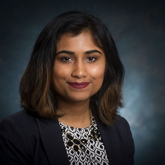 Undergraduate Neuroscience Program's Outstanding Seniors: Mugdha Mokashi