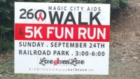 The 26th Magic City AIDS Walk & 5K Fun Run