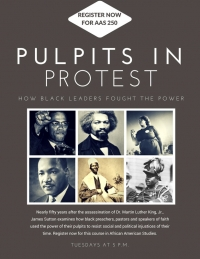 New course: Pulpits in Protest