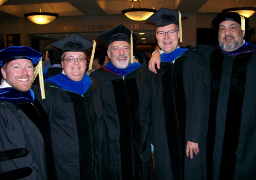 Graduate students and their faculty mentors.