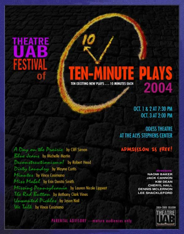 2004 Festival of Ten-Minute Plays