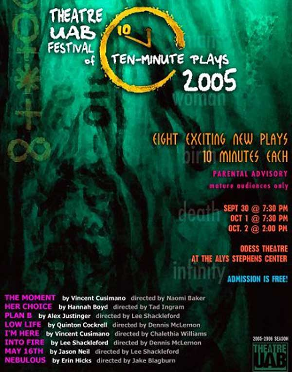 2005 Festival of Ten-Minute Plays