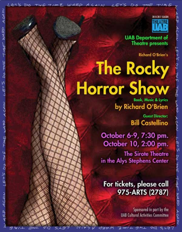 The Rocky Horror Show poster.