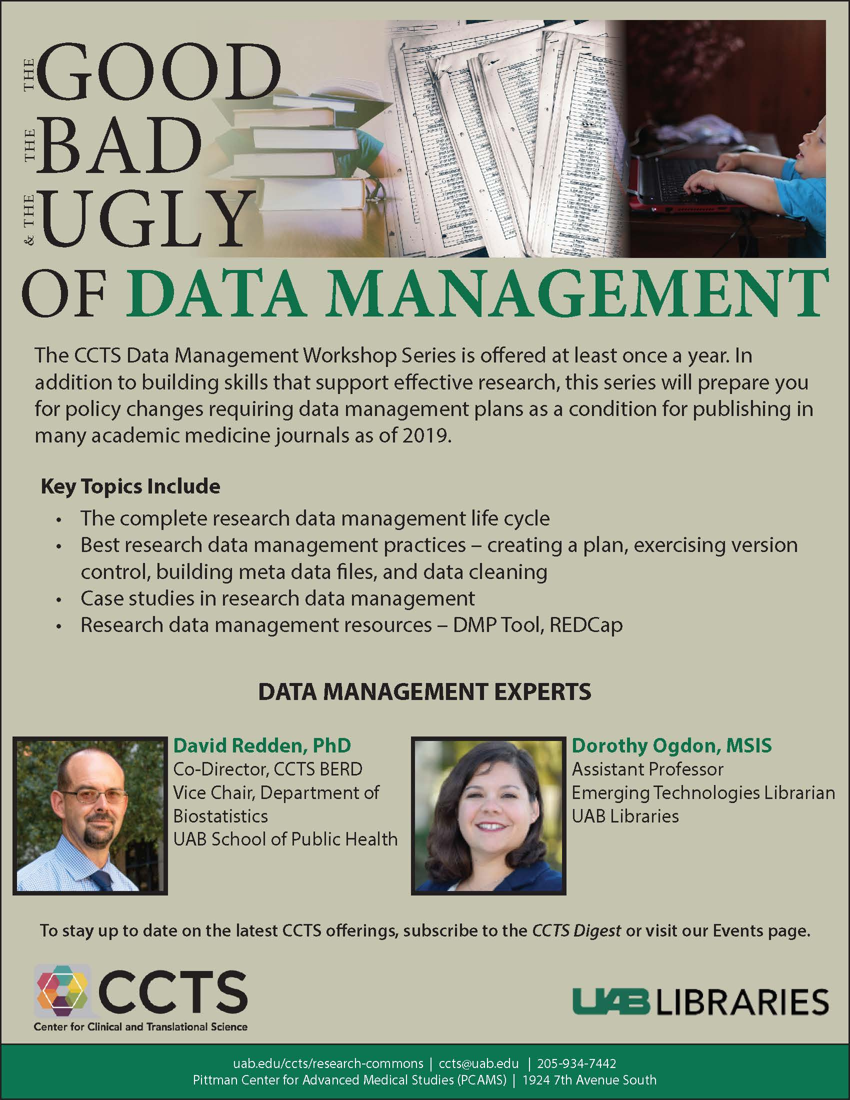 Data Management Evergreen Flyer