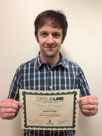 James Cody CIRTL Associate 2014