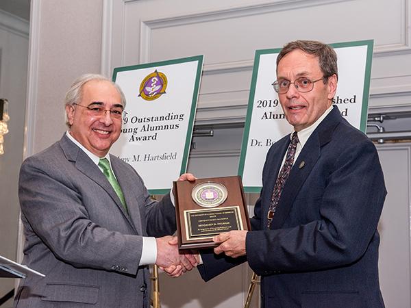 'Distinguished Alumnus' award winner is not surprising