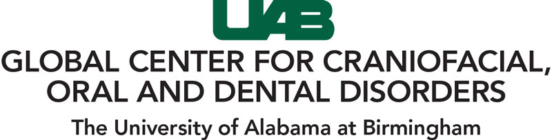 Global Center for Craniofacial, Oral and Dental Disorders logo.