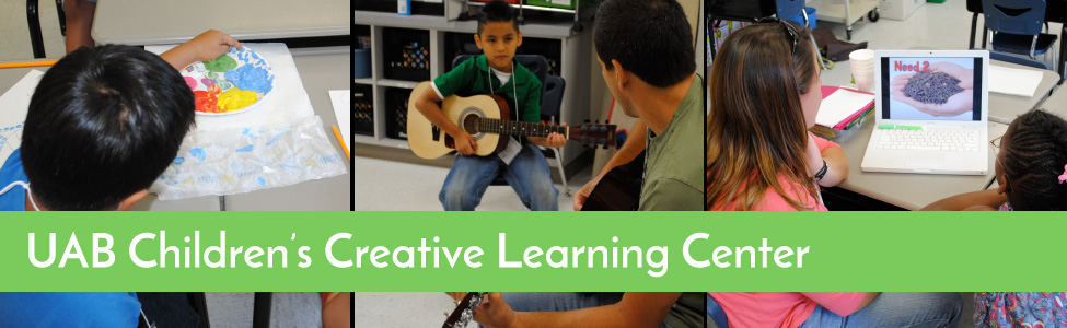 creative learning center banner