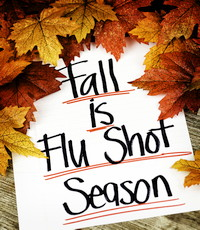 fall is flu shot season