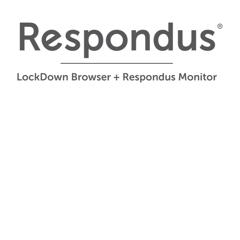 Respondus LockDown Browser & Monitor