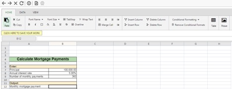 Screenshot of an RLDB spreadsheet.
