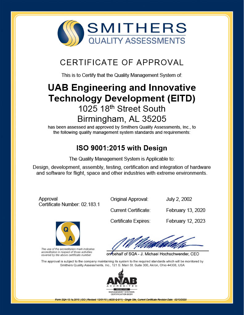 ISO Certificate 11 201024 1