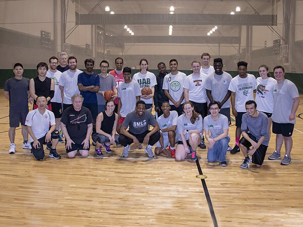 First annual faculty/staff vs. students basketball game a spirited success