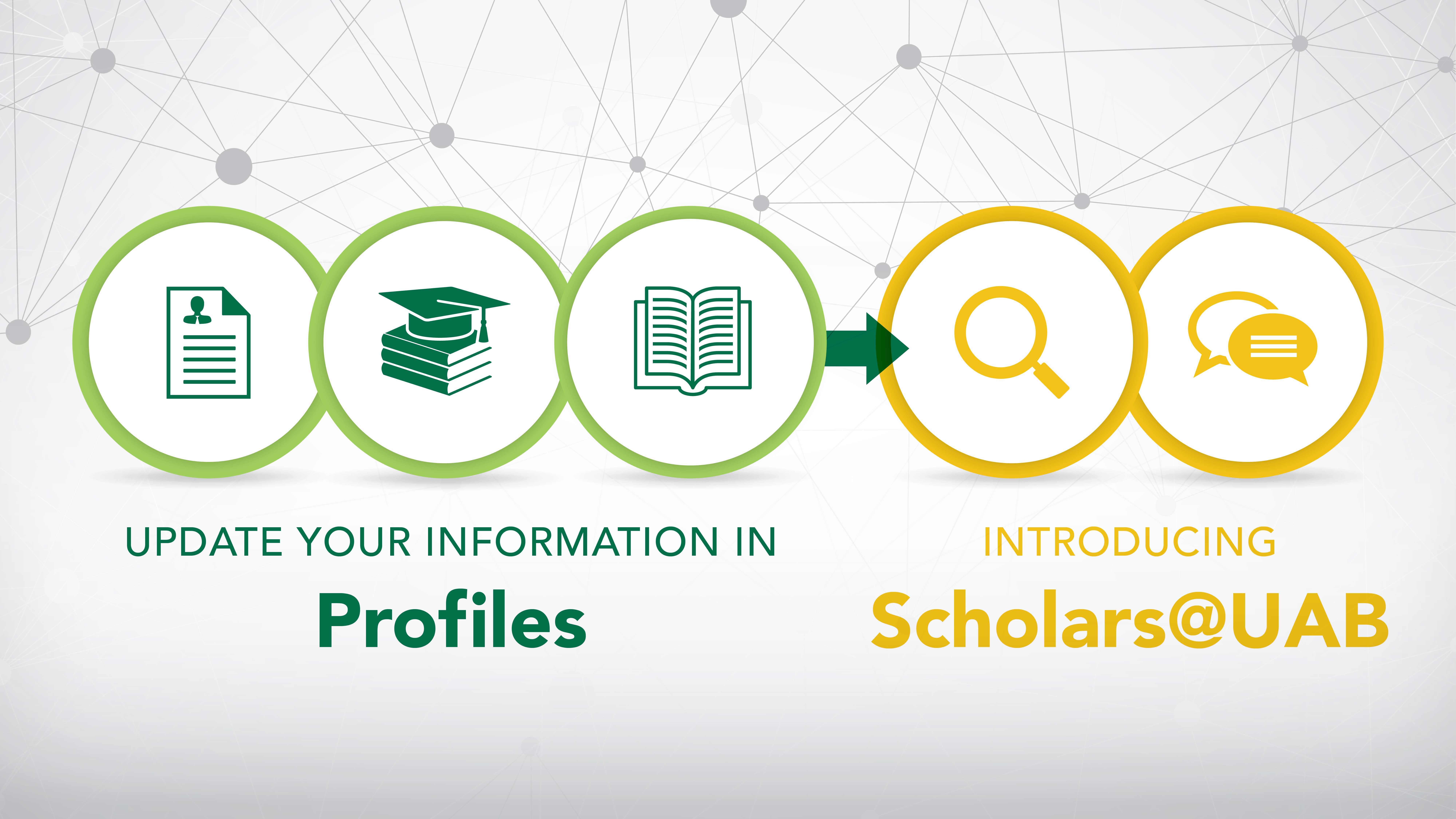 Update your information in Profiles - Introducing Scholars at UAB