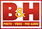 B&H: Photo - Video - Pro Audio.