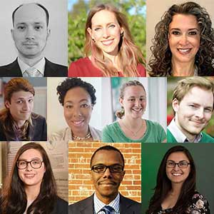 10 graduate students receive highest honor awarded by Graduate School