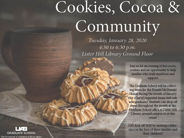 Cookies, Cocoa and Community