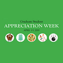 Graduate Student Appreciation Week Logo.
