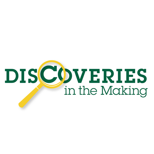 Discoveries in the Making Logo.