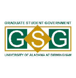 Graduate Student Government logo.