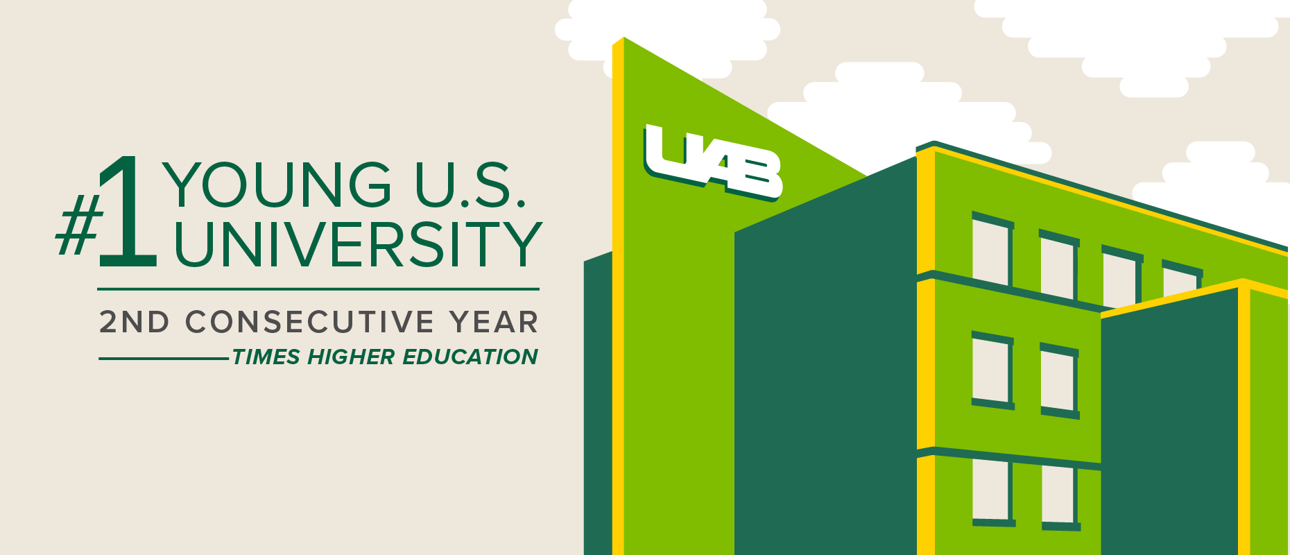 UAB named #1 young U.S. university for the second consecutive year