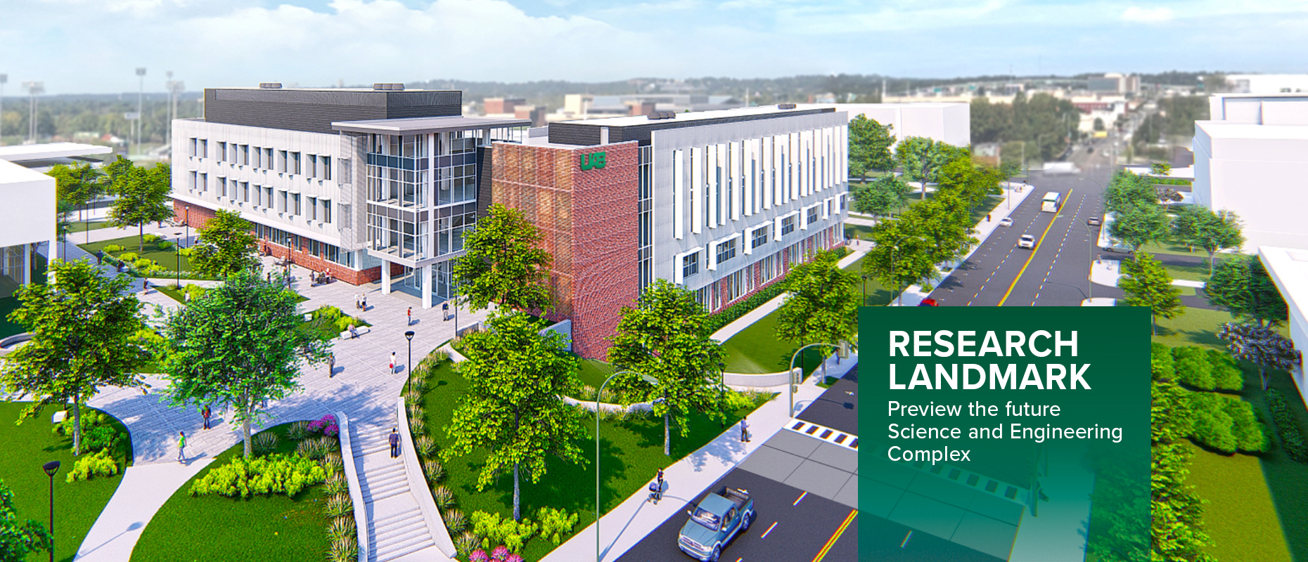 Research Landmark: Preview the future Science and Engineering Complex