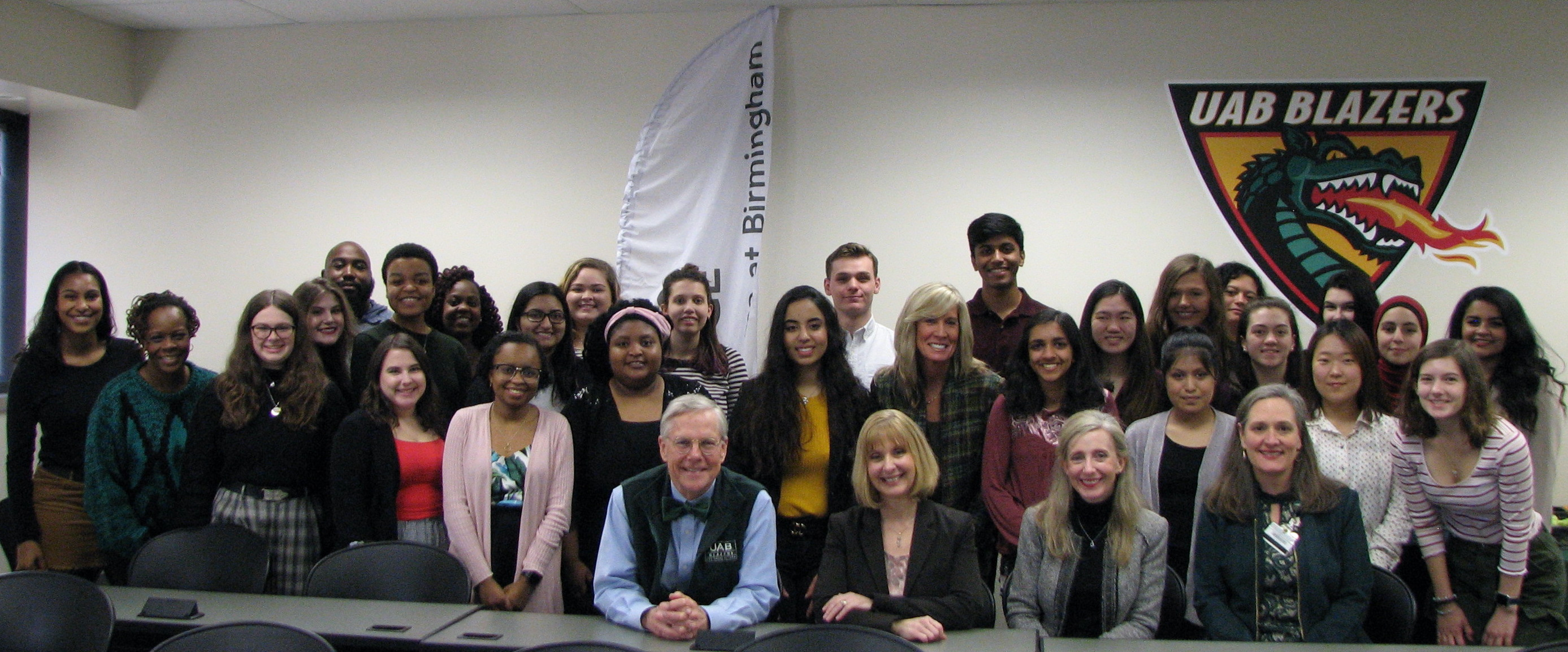 Group Photo of Mental Health Ambassador Inductees and Deans