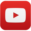 YouTube social squircle red 128px