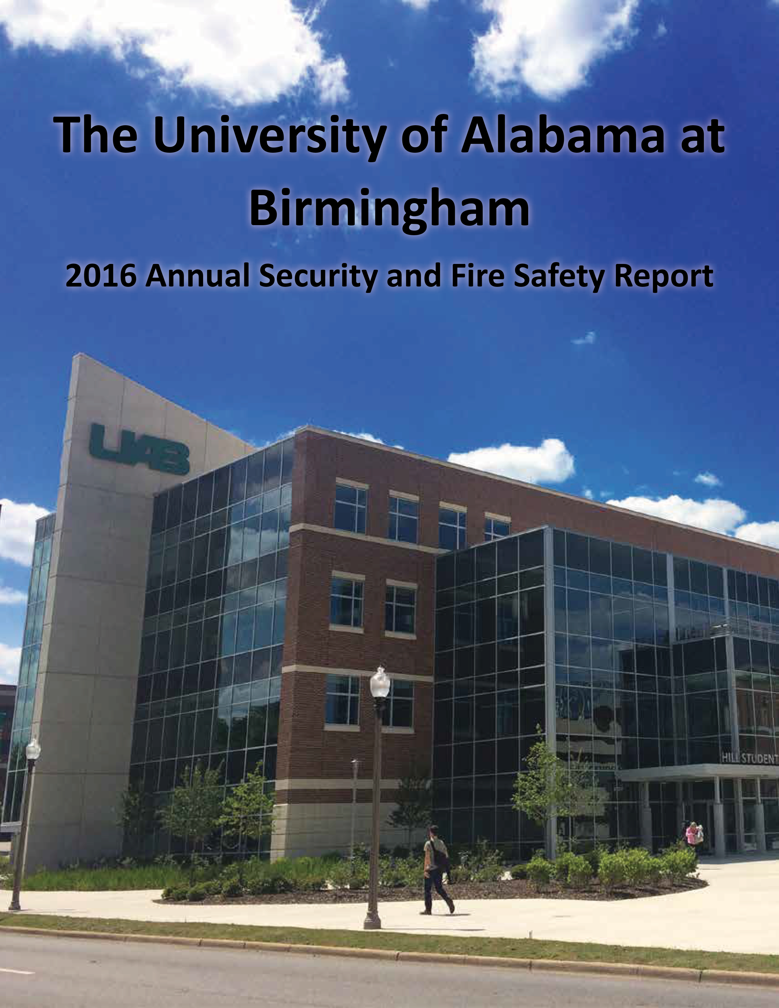 2016 UAB Annual Security and Fire Safety Clery Report 1