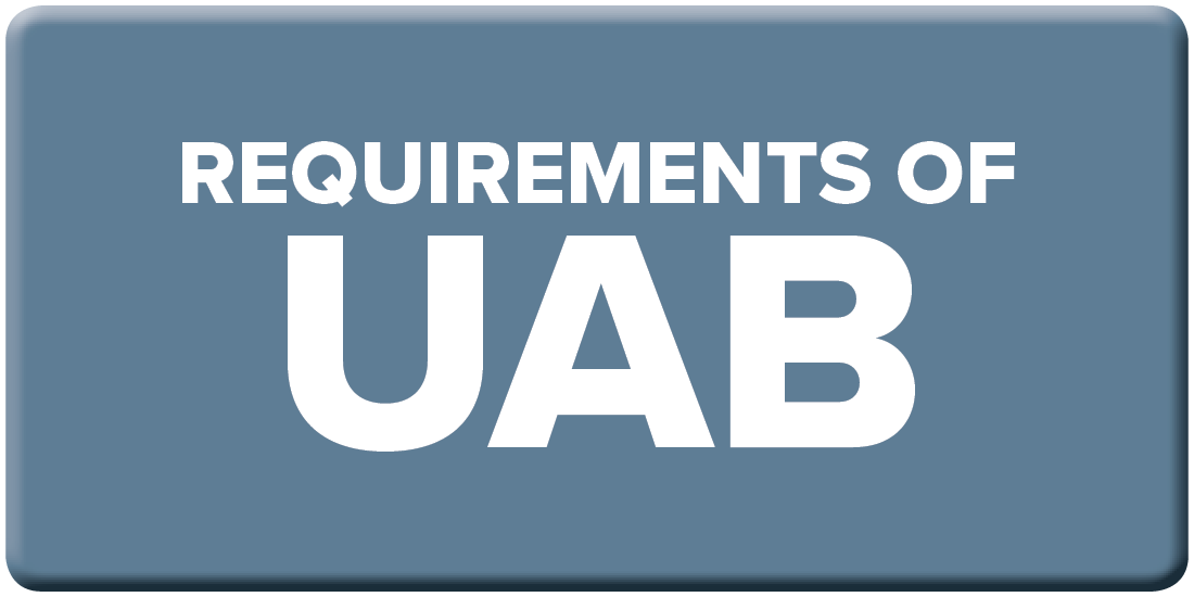 UAB Requirements