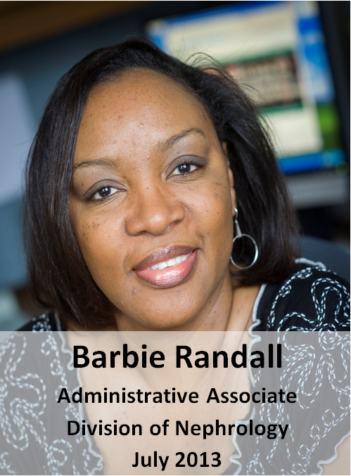 Barbie Randall Honoree July 2013