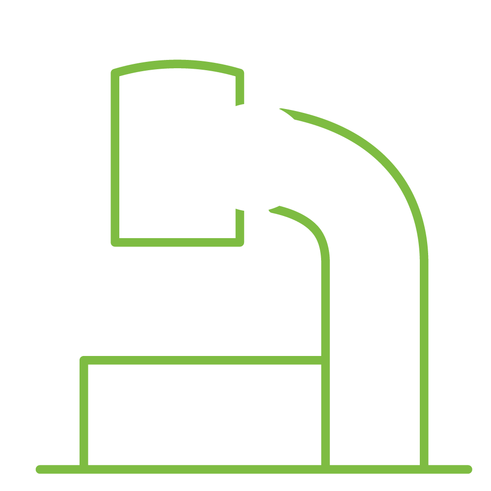 Illustration of a microscope.