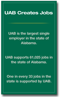 UAB Creates Jobs graphic