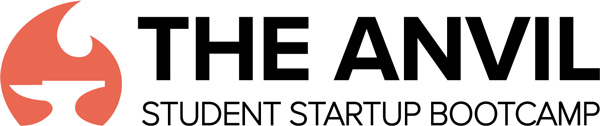 The Anvil Student Startup Bootcamp logo