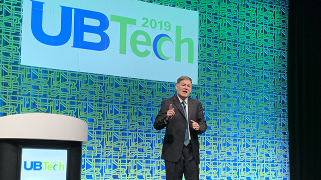 Carver speaks to national audience at UBTech conference