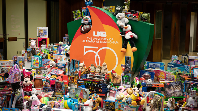 Toy Drive chosen for 50 Acts of Service