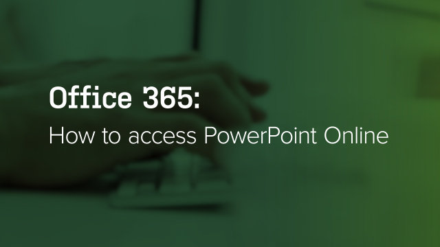 How to Access PowerPoint
