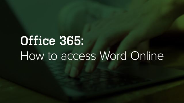 How to Access Word