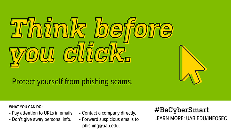 NCSAM: Think before you click