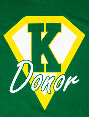 donor shirt