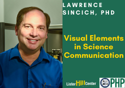April 22 - Lawrence Sincich, PhD (Canceled)