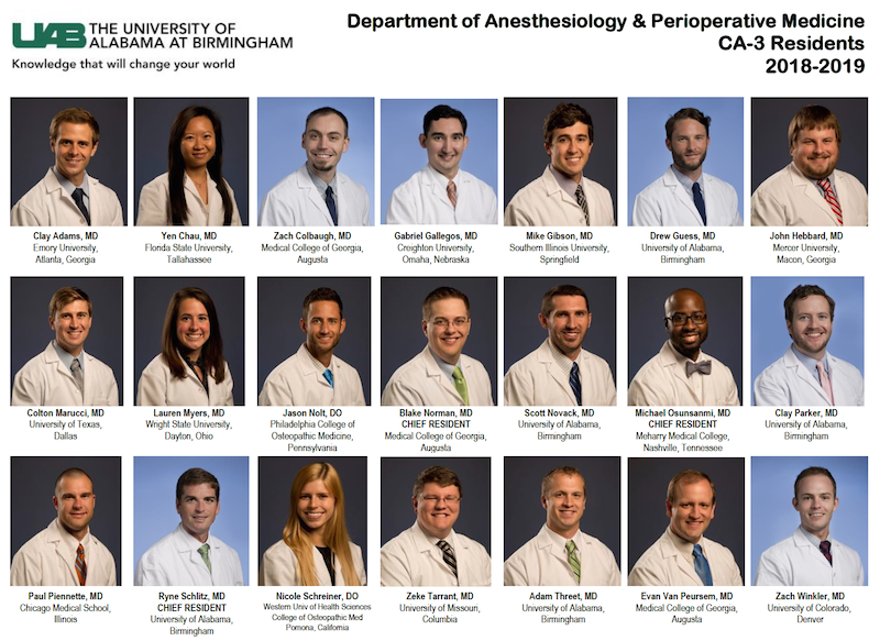 UAB - School of Medicine - Anesthesiology and Perioperative Medicine