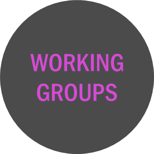 Working groups grey circle