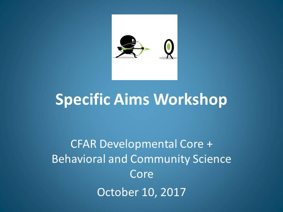 Kempf Specific Aims Workshop 10Oct2017
